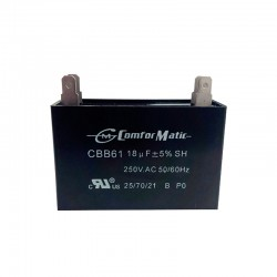 COMFORMATIC RUN CAPACITORS 250VAC